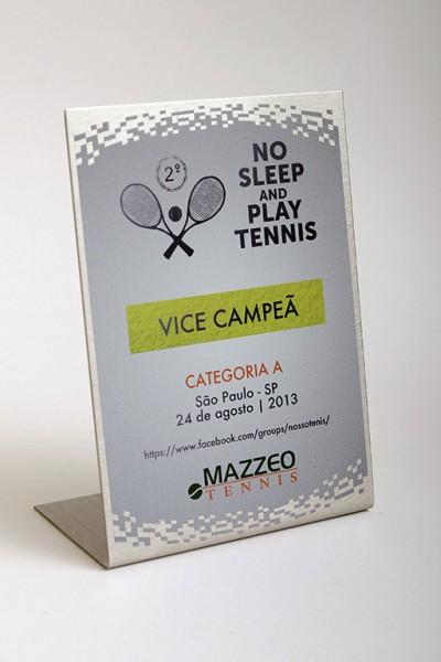 Troféu No Sleep and Play Tennis