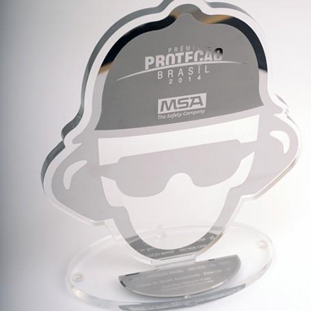 Troféu Prêmio Proteção Brasil - MSA