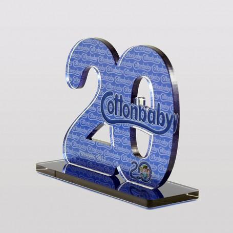 Troféu 20 anos Cottonbaby
