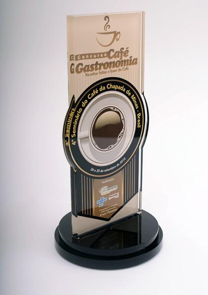 Troféu Concurso Café Gastronomia Sebrae/SC