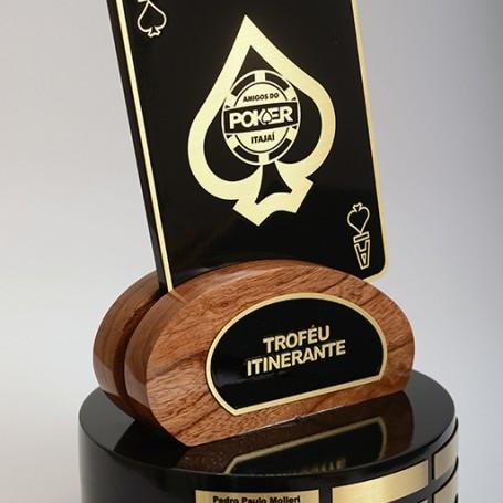 Troféu Itinerante - Amigos do Poker Itajaí